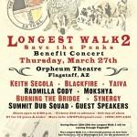 Longest Walk 2 Flagstaff Concert Poster