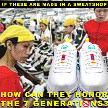 nike inc and sweatshops essay Business-managed democracy so when it's contractors were accused of manufacturing nike products in sweatshop conditions, using child labor, paying less than the minimum wage, enforcing overtime.