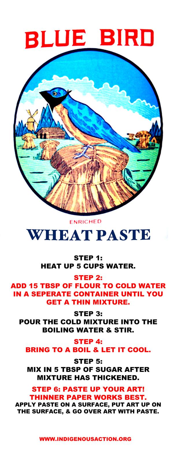 blue-bird-wheat-paste