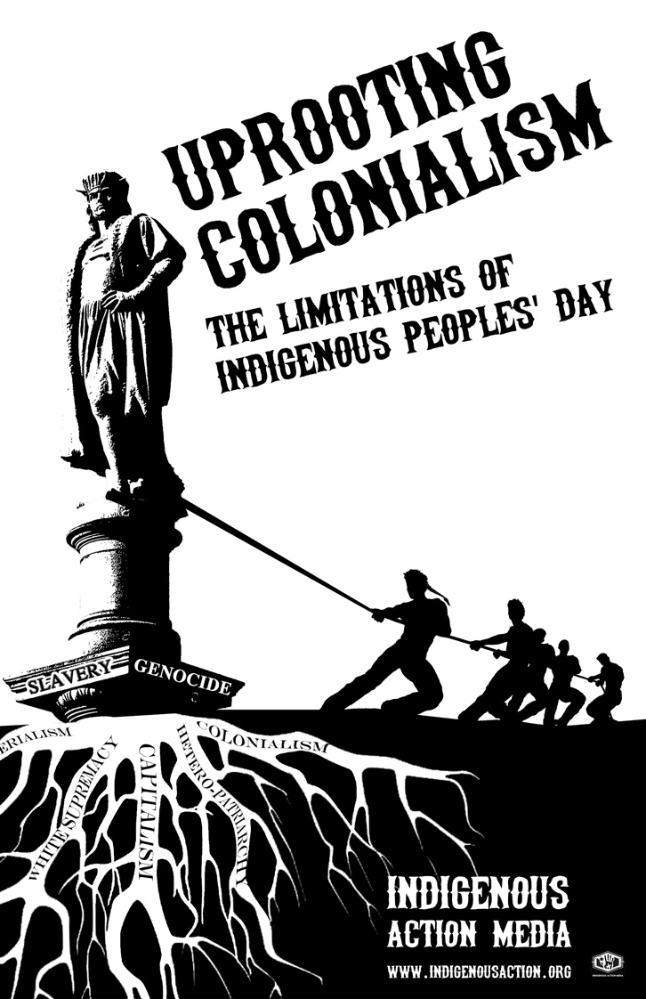 colonialism and history of indigenous peoples Space could lead one to make a decision and to take responsibility the inherited  history of colonialism is the place to start indigenous people continue to keep.
