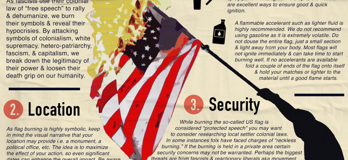 how-to-burn-an-american-flag