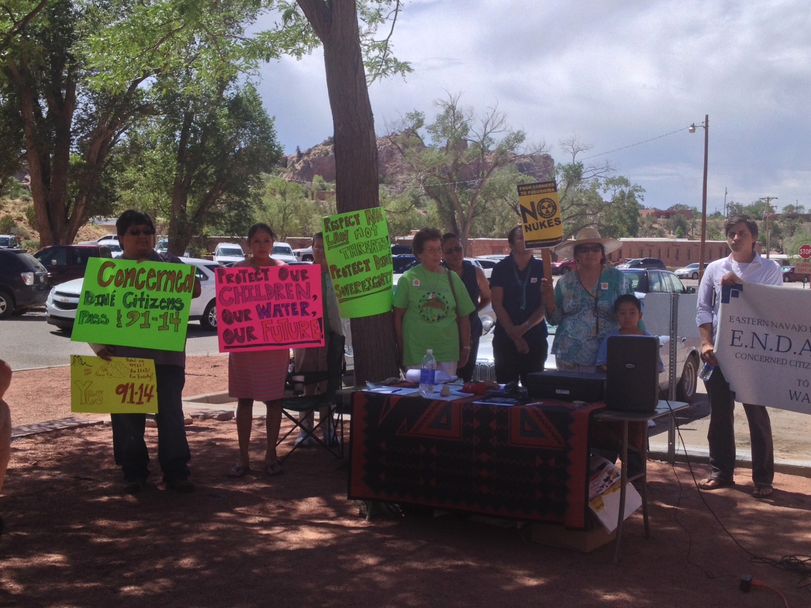 july 22-Concerned Diné Citizens